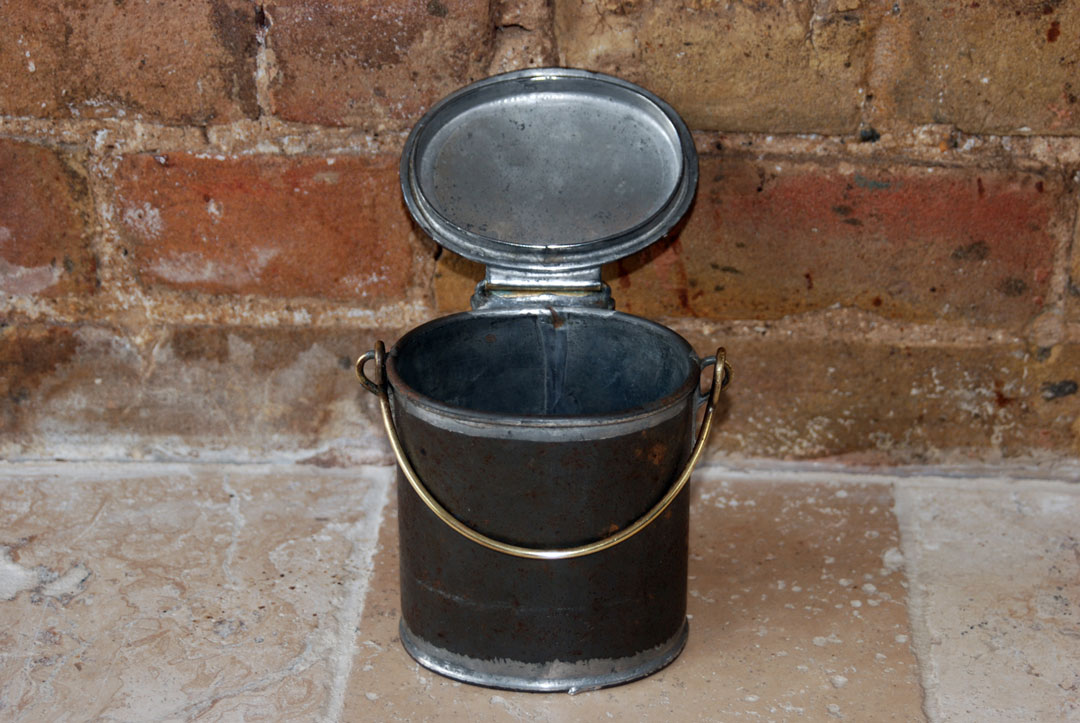 antique victorian edwardian cream dairy steel can dairy supply company museum street london