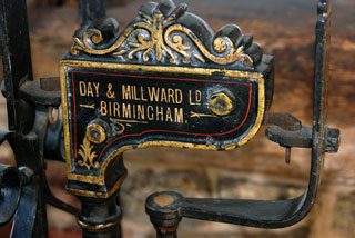 day millward antique cast iron victorian scales interior design statement