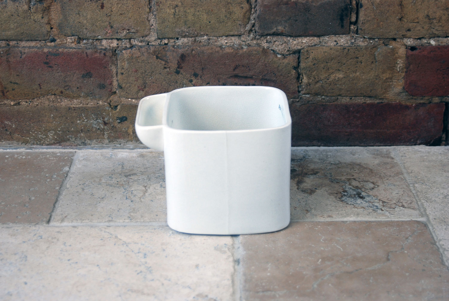 Victorian white ironstone granitine improved rational plate washer sink tidy bathroom storage