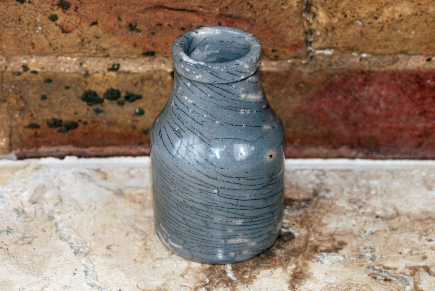 victorian edwardian antique french mustard moutarde de maille weathered chippy pot jar
