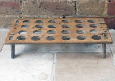 primitive victorian antique english treen wooden egg tray rack 24 2 dozen eggs country house farmhouse style