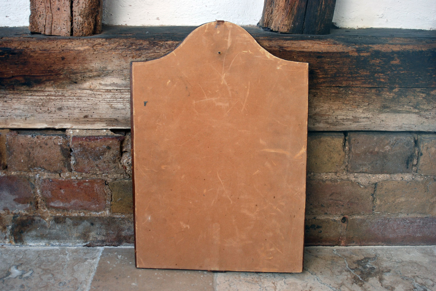 vintage 1930s leather office messages board notice board messaging board copper horn paper clip home styling
