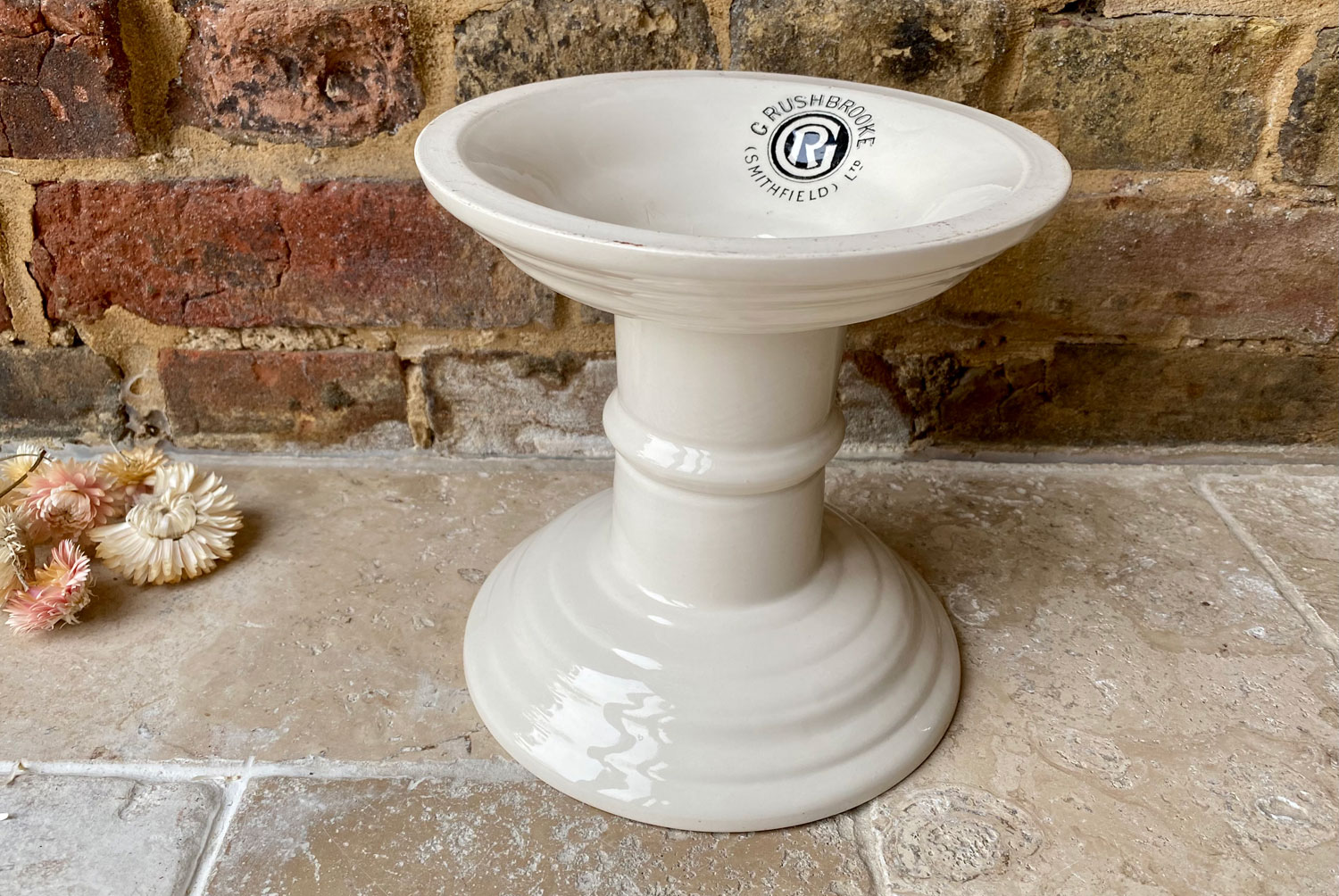 antique white ironstone edwardian 1920s ham stand g rushbrooke smithfield outfitters